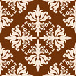 Vintage Baroque style seamless wallpaper pattern
