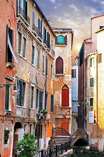 Fototapeta Venetian streets
