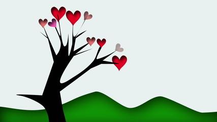 l'albero fiorito