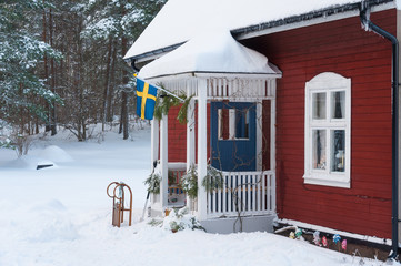 Winteridyll in Schweden