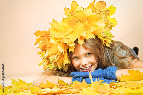 child autumn