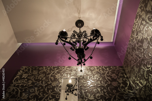 Ruby house - Original chandelier