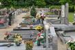 the cemetery of Oberhausbergen in Alsace