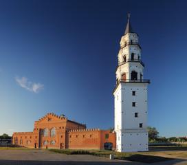 Nevjansky falling tower of XVIII century