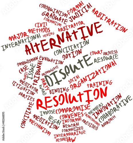 Word cloud for Alternative dispute resolution