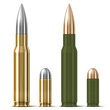 Rifle and pistol bullets - 48267086