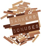 Word cloud for Bankers' bonuses
