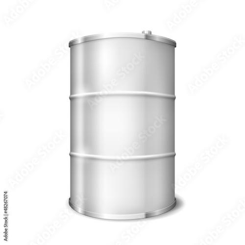 Metal Barrel - 48267074