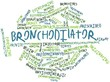 Word cloud for Bronchodilator