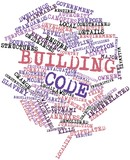 Word cloud for Building code