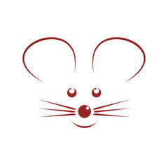 Vector logo mouse