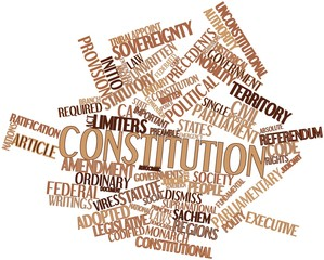 Word cloud for Constitution