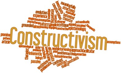 Word cloud for Constructivism
