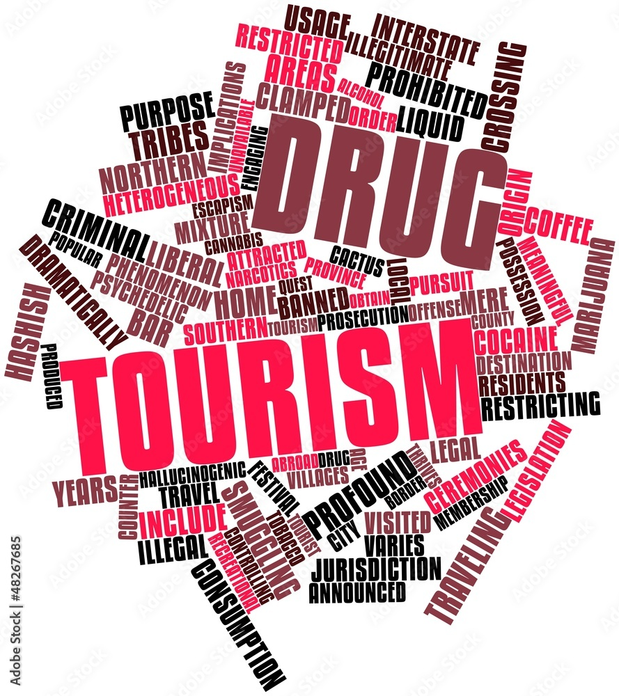 drug tourism Recreational drug tourism is travel for the purpose of obtaining or using drugs for  recreational use that are unavailable, illegal or very expensive in one's home.