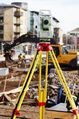 surveying and construction, measuring instrument