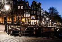Amsterdam bij nacht, Nederland