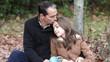 père et fille - bonheur