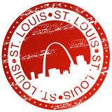 Stamp - St. Louis, USA