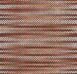 Style Seamless Knitted Pattern. Brown Pink White Color Illustrat