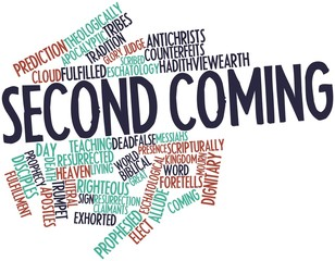 Word cloud for Second Coming