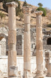 Ancient columns in Ephesus, Turkey