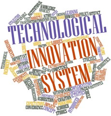 Word cloud for Technological innovation system