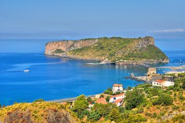 Dino island. Scalea. Calabria. Italy.