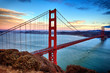 Horizontal View Of Golden Gate...