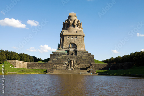 The monument to the Battle of the Nations in Leipzig