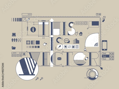 info graphic vector background, communication icons,