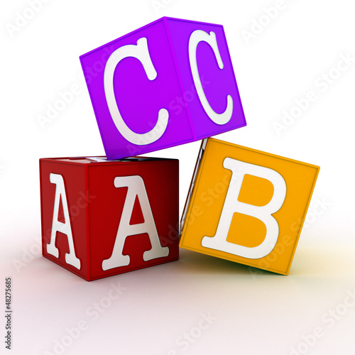 ABC building blocks