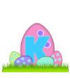 Alphabet Big Egg Hunt K