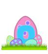 Alphabet Big Egg Hunt O