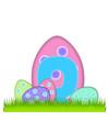 Alphabet Big Egg Hunt Q