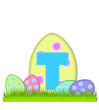 Alphabet Big Egg Hunt T