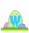 Alphabet Big Egg Hunt W
