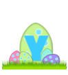 Alphabet Big Egg Hunt Y