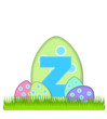 Alphabet Big Egg Hunt Z