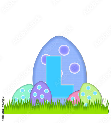 Alphabet Big Egg Hunt L
