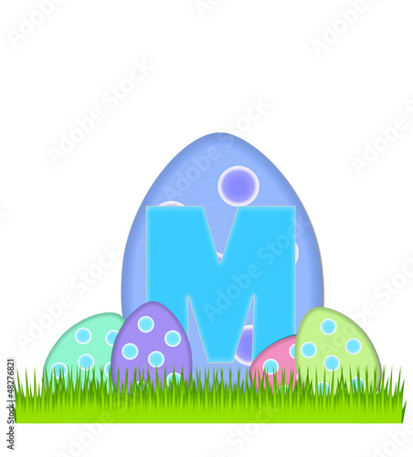Alphabet Big Egg Hunt M