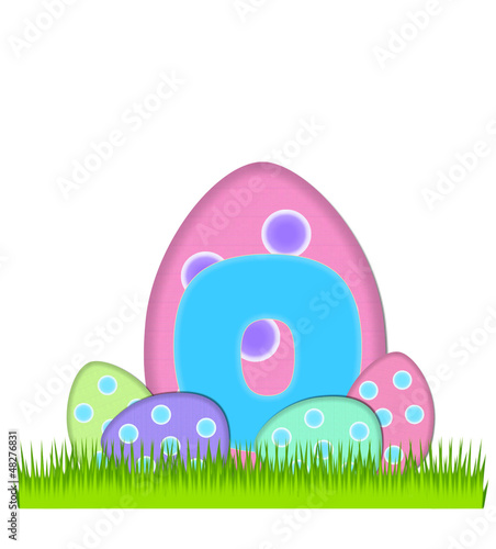 Alphabet Big Egg Hunt O