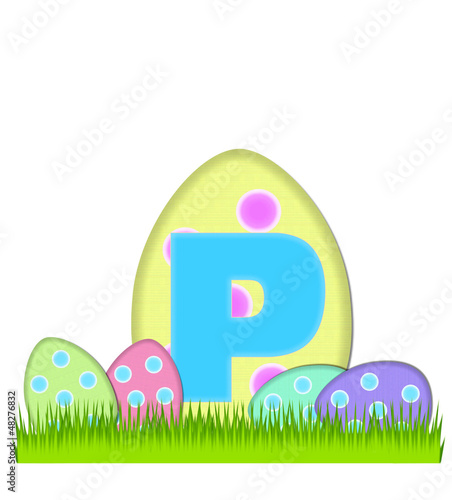 Alphabet Big Egg Hunt P