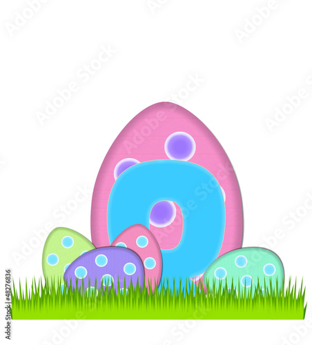 Alphabet Big Egg Hunt Q