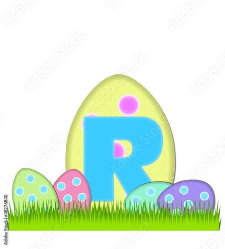 Alphabet Big Egg Hunt R