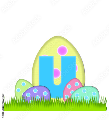 Alphabet Big Egg Hunt U