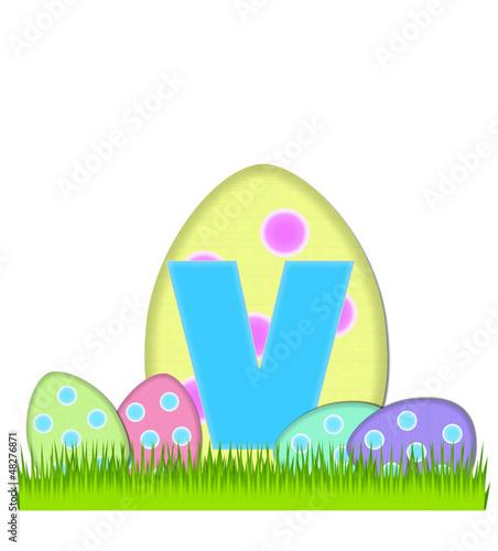 Alphabet Big Egg Hunt V