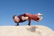 Yoga Eka Pada Koundiyanasana
