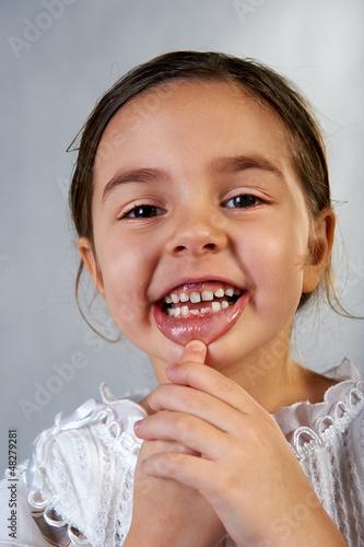 Zähne wachsen