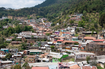 Neighborhood of  Angangueo, Michoacan (Mexico)