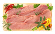 Fettine di maiale sottili - Slices of pork